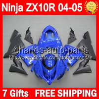7gifts Blue black + Customized Body For KAWASAKI NINJA ZX10R ...