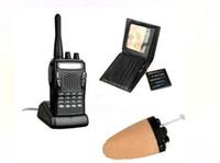 Wholesale Wireless Mini hidden Earpiece Walkie Talkie Wallet invisible mini wireless earpiece