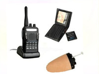 Wholesale Wireless Mini hidden Earpiece Walkie Talkie Wallet invisible mini wireless earpiece