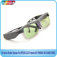 Wholesale D Active Shutter Glasses For EPSON LCD Projector EH TW5800C C C