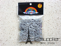 Wholesale Rainbow Loom Charma kit Magical Colorful Loom Kit DIY Toys Educate toys Set Mix Colour bands S C Clips crochet hook