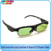 Wholesale Brand Universal Active Liquid Crystal Shutter D Glasses for D TV Bluetooth Meters