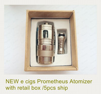 Replaceable -  New Prometheus Atomizer 3.5ml Rebuildable Clearomizer Stainless Steel GT Prometheus Atomizer Tank for Chiyou King Panzer maraxus ecig Mod