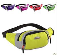 Backpack Style Unisex Plain New 2013 EISIQI Leisure Fashion Sport Fanny Waist bag Pack Backpack for men women
