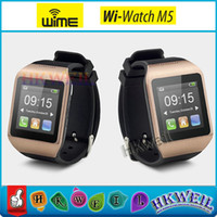 Wi- Watch M5 Smart Watch Cell Phone With 1. 54Inch Touch Scree...