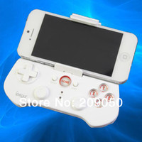 Wholesale Wireless Bluetooth Game Controller Joystick Gamepad For iPhone iPad Samsung HTC Moto Android Mobile Phones Tablet PC
