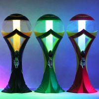 Plastic beer dispenser - 2014 The Brazilian World Cup Colorful changing Beer Machine Liquid Shots Gun water Liquid Dispenser