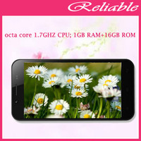 WCDMA Thai Android Original ZOPO ZP1000 Smart Phone MTK6592 1.7GHz Octa Core RAM 1GB + ROM 16GB 5.0 inch Dual SIM, WCDMA & GSM Network Cell Phone