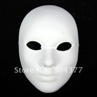 Wholesale Blank Paper Mache Masks Full Face For Decorating Net weight g mix Free