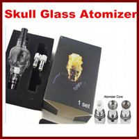 Skull Wax Glass Globe Tanks with 3 Cores Pyrex Glass Dry Her...