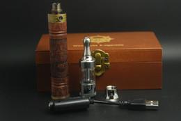 Wholesale High quality e fire wooden x fire ecig vv mod e fire vaporizer pen wood efire battery kit x fire electronic cigarette