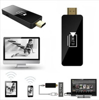 Wholesale iPush WFD Share HDMI Multimedia AirPlay Wireless WiFi DLNA Display Dongle Receiver Sharing Multi Screen Interactive for Android iOS Tablet