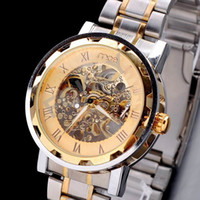 Wholesale 1PCS Men s Wristwatches mce brand New Mechanical Watch Gold Luxury Mens Automatic Watch with MCE Gift Box Freeshipping