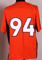 Wholesale 2014 Football Fans Style Men s WARE Orange Game Jerseys Fashion American Footbal lHigh Quality Mix Order Best Selling Athletic