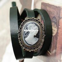 Wholesale vintage bracelet watches leather ladies reloj de piel