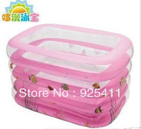 Swimming Supplies Character  Rectangle inflatable adult child kids baby bath basin bathtub tub swimming pool