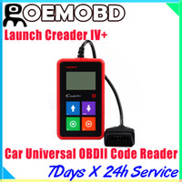 For BMW auto scanner - Launch X431 Creader Original car code scanner CReader IV Plus OBDII Auto Scanner CReader