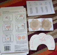 nipple tape - Retail Box pack Instant Lifts Nipple Covers BREAST LIFT Bra Tape Cleavage Shaper sin bra China post