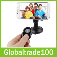 Wholesale Bluetooth Camera Remote Shutter for Mobile Cell Phones Galaxy S3 S4 S5 Note iphone S s ipad Air