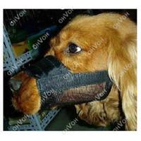 anti barking muzzle - S5Q Adjustable Anti Bite Mesh Soft Nylon Pet Dog Bark Chew Mask Muzzle AAACWX