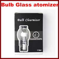 Wax Glass Tank Dry Herb Clearomizer Glass Atomizer for Wax D...