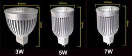 3W 5W 7W s/n, projecteur LED Ampoules lampe MR16 12V intérieur Spot Lights décoratif éclairage 12 Volts chaud blanc Cool blanc CE ROSH Drop Shipping à partir de mr16 blanc chaud torchis 5w fabricateur