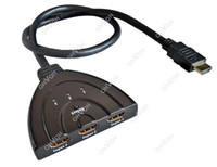 Wholesale S5Q Port Auto Switch HDMI Splitter P D With HD Cable AAACWN