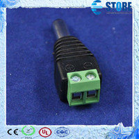 Wholesale New arrival Male DC socket connector for power supply for led strip light smd smd single color M