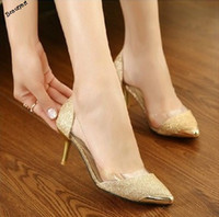 Wholesale women pumps solid color woman high heeled platform square shoes