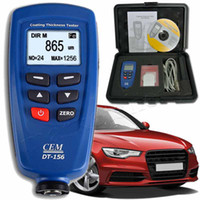 auto paint thickness gauge - CEM DT Paint Coating Thickness Gauge Meter Auto F NF Probe um