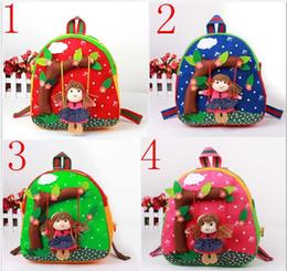 Wholesale Children s Shoulder bag Backpacks Fabrics hand bag boys girls school bags pocket Satchel bag Pieces gmy