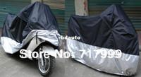 Wholesale Motorcycle Waterproof Outdoor Motorbike Bike Moped Dust Prevent Rain Cover Size XXXL cm PVC Drop Ship