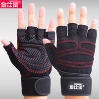 Wholesale Sports Fitness Gloves Exercise Training Gym Gloves Multifunction for Men Women sweat absorption friction resistance D