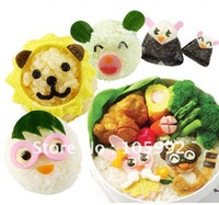 Wholesale The fashion mold DIY animal molds magical big face the cute lunch mold
