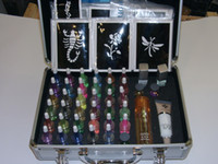 Wholesale 38 Colors Temporary tattoo kit Body Art Deluxe Kit Free gift