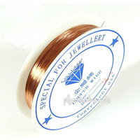 Cheap jewelry copper wire Best 0.5mm beading wire
