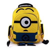Wholesale fashion cute despicable me beedo baby boys girls backpack children pp plush minions toy school bag kids backpacks good quality