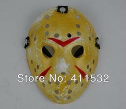 Free shipping Jason Voorhees Jason vs Freddy hockey mask Halloween masquerade mask adult size10pcs lot
