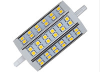 6W / 9W / 12W / 15W / 18W Ultra Bright R7S Dimmable Led Lights SMD 5050 Chaud / Cool White Remplacer Floodlight Lampe halogène 78mm 118mm 189mm 110-240V