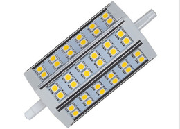 R7s led 118mm dimmable en Ligne-6W / 9W / 12W / 15W / 18W Ultra Bright R7S Dimmable Led Lights SMD 5050 Chaud / Cool White Remplacer Floodlight Lampe halogène 78mm 118mm 189mm 110-240V