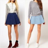 Cheap Denim Mini Skirts For Women | Free Shipping Denim Mini ...