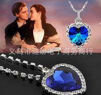 heart of the ocean - The Heart Of The Ocean Necklace Titanic High Quality B9