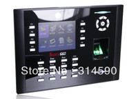 Wholesale iclock660 Multi media Fingerprint Time Attendance and Access Control Terminal