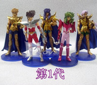 Wholesale DHL New arrival cm PVC Saint Seiya Action Figures Generation Boy Kid children Gift toys dolls