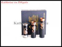 Wholesale Stingray Mod Black Stingray Mechanical Mod Black Copper Clone Stingray Mod for Electronic Cigarette E Cigarette E Cig Kits Battery Tube