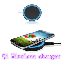 Wholesale Qi Wireless Charger Charging Pad For iPhone S S Lumia LG Nexus Samsung Galaxy S4 S3 Note3 All Mobile Phone