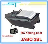 Wholesale 2pcs JABO BL Remote Control Bait Boat Fish Finder upgade JABO BS A Lipo Battery Newest Eiditon Jabo RC fishing boat