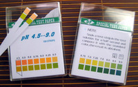Wholesale High precision PH test paper pH Full Range Test color matching Measurement of pH PH test paper