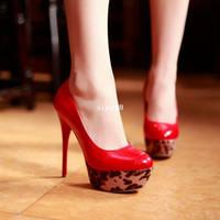 Wholesale Sexy Platform High Heel Shoes cm high heels Club shoes pumps big size Ladies Wedding Party Dress Shoes women