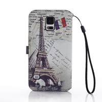 For Apple iPhone Leather For Christmas Vintage Retro British Style PU Leather Case Flip Cover Holder Wallet Credit Card Slot for Samsung Galaxy S4 I9500 S5 I9600 iPhone 5 5S 5C 50